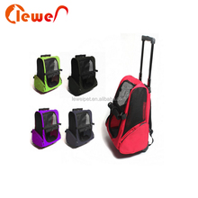 Polyester stable foldable pet dog travel carrier bag for pet products bag