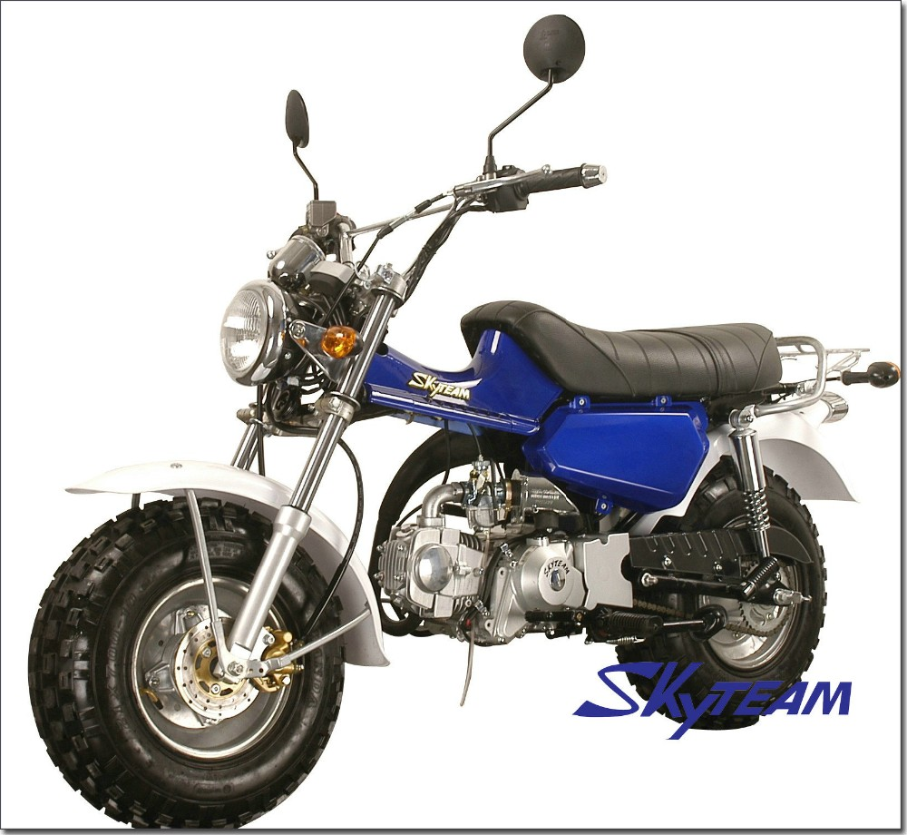 "SKYTEAM T-REX 50cc 4 stroke on road motorcycle (EEC approved, 5.5-10""/5.5-10"")"