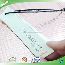 OEM different kinds of clothing label tag, clothing hangtag