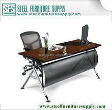 office executive table with front panel, office furniture modern style office desk, teachers desk office furniture