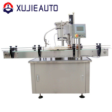 glass bottle capping machine for aluminum screw caps