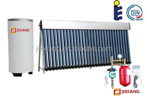 Heat pipe high pressure working principle of solar water heater