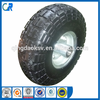 Environmental manufacturer pu solid tyre 4.10/ 3.50-4 for wheel barrow