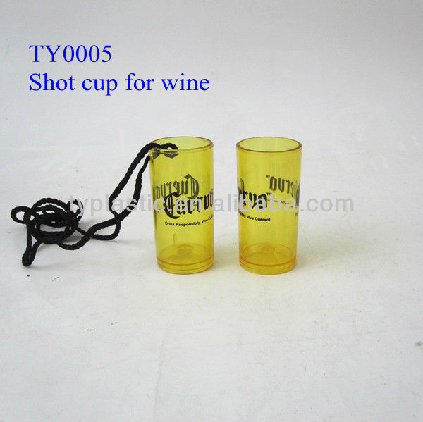 50ml whisky plastic shot cup