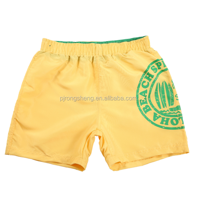 wholesale China manufactures children printing shorts in boy's shortsCustom design shorts