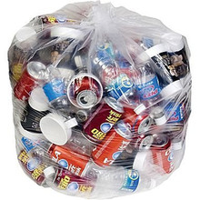 96 Gallon Super Big Mouth Trash Bags 3 Pack Plus 1 Free Twist Tie