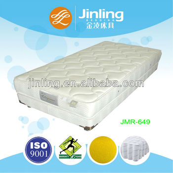 Pocket Coil Spring Mattress with Soft Foam in filling
