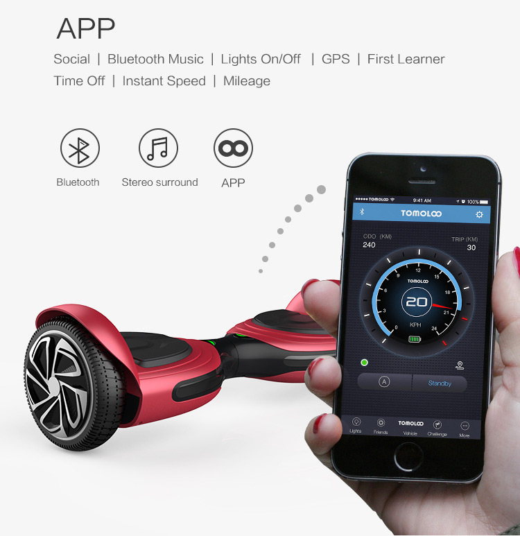 mini electric scooter 2 wheel electric scooter ul2272 hoverboard, China factory wholesale