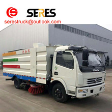 5000L Vacuum Road Sweeper Trucks 4x2 off Road Sweeping Truck 5m3 Garbage suction Road cleaning vehicle