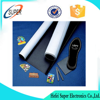 Strong custom die cut Flexible Isotropic rubber magnets with colorful
