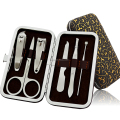 Dragon pattern 6pcs manicure set pedicure set