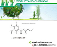 Worldyang 2,4,5-Trifluoro-3-Methoxy-B-Oxo-Benzenepropanoic Acid Ethyl Ester ;cas no 112811-68-4; with best price