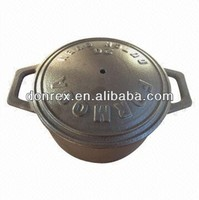 Cast iron and enameling pot, customized drawings are accepted
