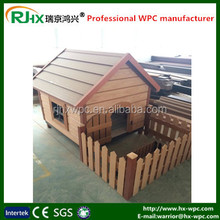 Custom made dog kennels for decorative dog houses with eco-friendly WPC material