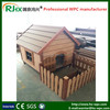 Dog house made of healthy eco-friendly WPC material/decorative dog houses