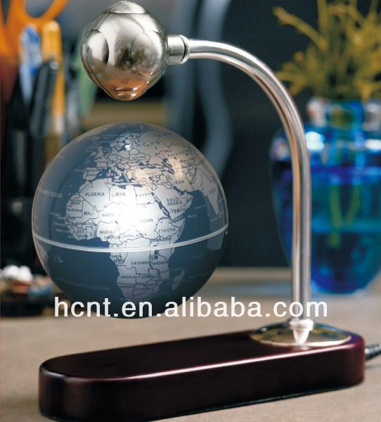 New Innovation ! Magnetic Levitating Globe for Gift ! famous gifted people