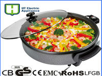 38CM Electric grill pan for pizza