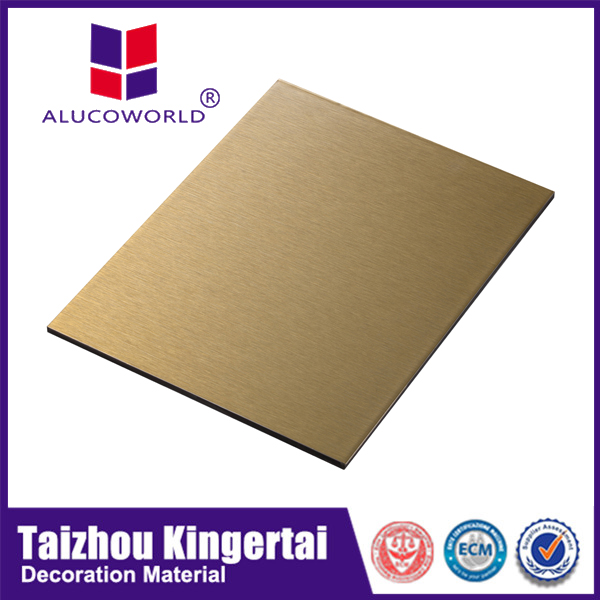 Alucoworld aluminum 4x8 sheet aluco board 5mm blue aluminum composite panel