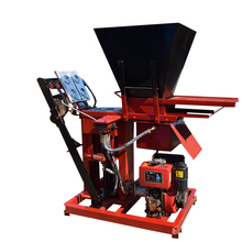 Electric power or diesel engine brick maker for sale