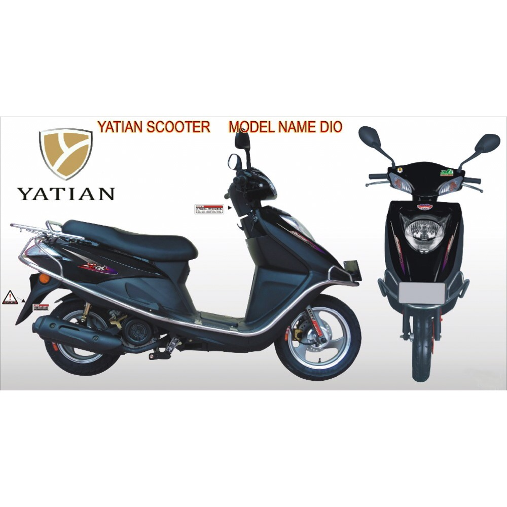 EPA Approval 50cc Scooter