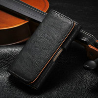 Case mobile phone for iphone 5g,pure leather clip phone case for iphone 5g wholesale
