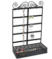 Chinese Manufacture Fashion Black Metal Tabletop Display Stand for Jewelry
