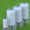 High quality 100t small steel pig grain silo price