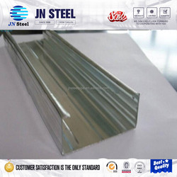 metal building materials price galvanized steel stud 41*41 extruded types of galvanized steel metal purlin/profile