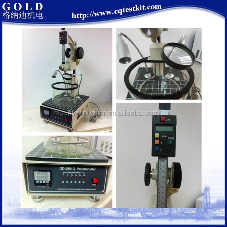 Needle and Cone Penetrometer Tester, Digital Cone Penetrometer Test