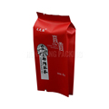Food grade aluminum foil red plastic bags for tea