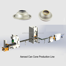 Aerosol Spray Cap Cone Production Line Air Freshener Can Making Machine