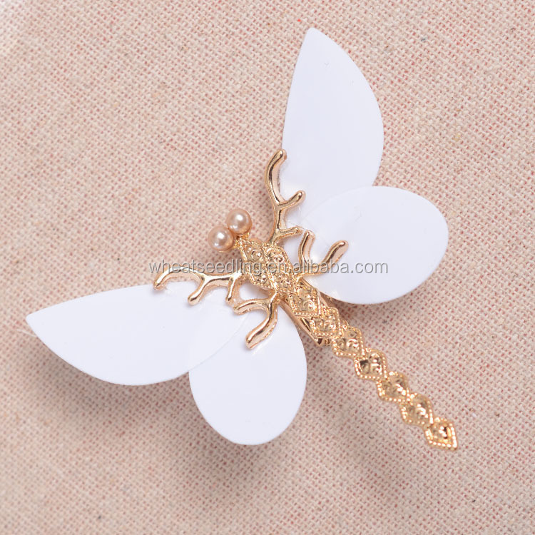 Trendy Golden Dragonfly Hairpins Bridal Headdress Wedding <strong>Hair</strong> <strong>Accessories</strong> Transparent Wings Dragonfly <strong>Hair</strong> Clip