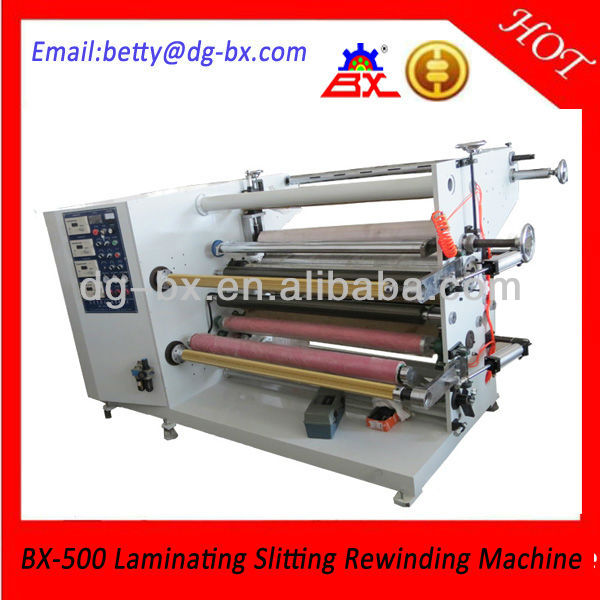 Aluminum Foil/Copper Foil/Non-Woven Multi Function Laminating Slitting Machine