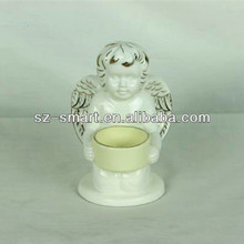 Candle holder indoor decoration angel statue