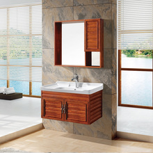 2017 Modern Wall mounted Aluminum Bathroom Cabinet Vanity