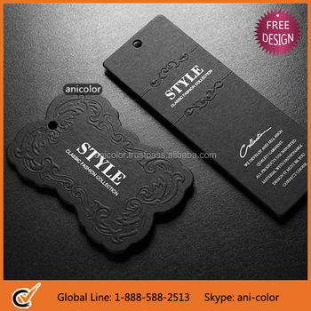 Customized Garment Hang Tags