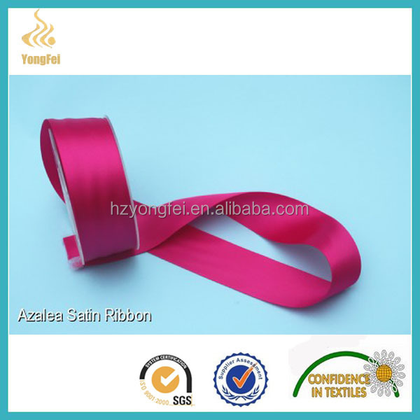 stitching edge satin ribbon