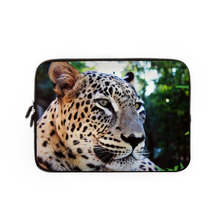 12 inch neoprene laptop bags leopards printing laptop briefcase