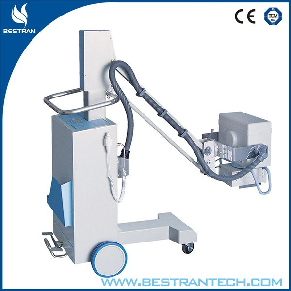China BT-PLX101 Hospital 2.5kW Mobile X-ray System, x-ray machine c-arm image intensifier fluoroscopy machine