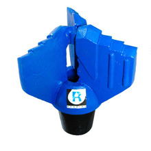API PDC/carbide type 3 blades water well drilling drag bits