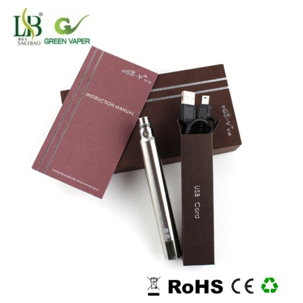 Green Vaper popular electronical cigarette ego ce4+v3 starter kits with factory price
