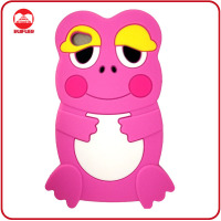 Cute 3D Frog Design Soft Silicone Cartoon Animal Case for Galaxy S2