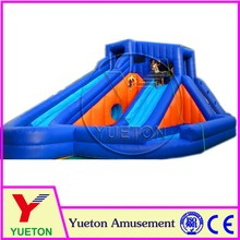 Zhengzhou Yueton Cyclone Inflatable Water Slide For Backyard