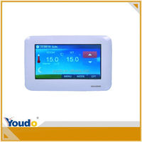 New Model Lcd Display Touch Screen Room Thermostat