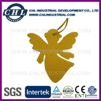 Angel shape promotional felt Hallowmas decoration