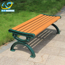 Selling well low price waterproof durable outdoor cast iron garden bench ends wood slats for bench