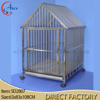 strong stainless steel dog cage wholesale dog house