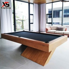 High-end modern style luxury 9ft 8ft size billiard pool table