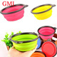 FDA Approved Washable Silicone Dog Food Bowl, Heat-resistant Drinking Pet Bowl