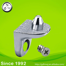Zinc Alloy shelf support with 5mm pin with screws